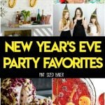 It doesn't matter if you stay in or throw a huge party, these 20 New Year's Eve Party Favorites are sure to make their way into your celebrations.