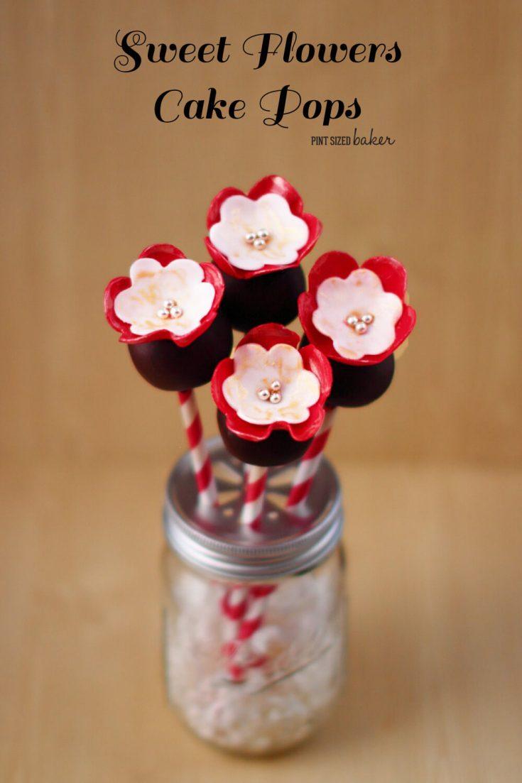 Sweet Flowers Cake Pops