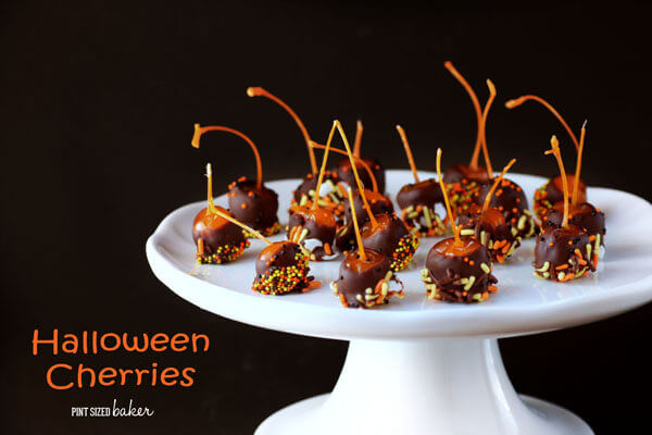 Halloween Cherries