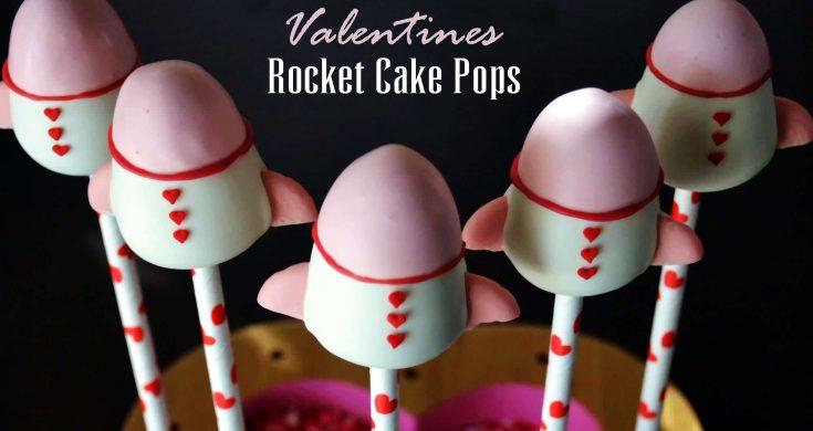 Rocket Ship Cake Pop Tutorial