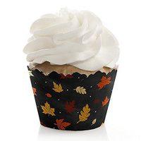 Fall Leaf Cupcake Liner