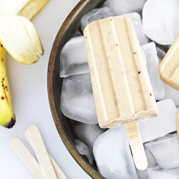 Peanut Butter and Banana Yogurt Pops Recipe
