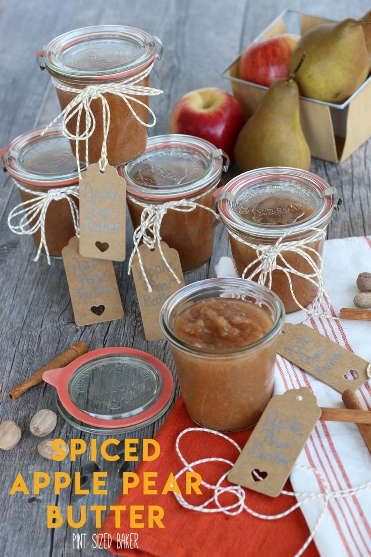 Spiced Apple Pear Butter
