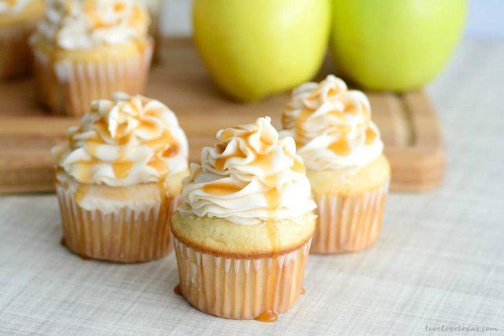 Caramel Apple Cupcakes - Celebrate Fall With This Easy Recipe