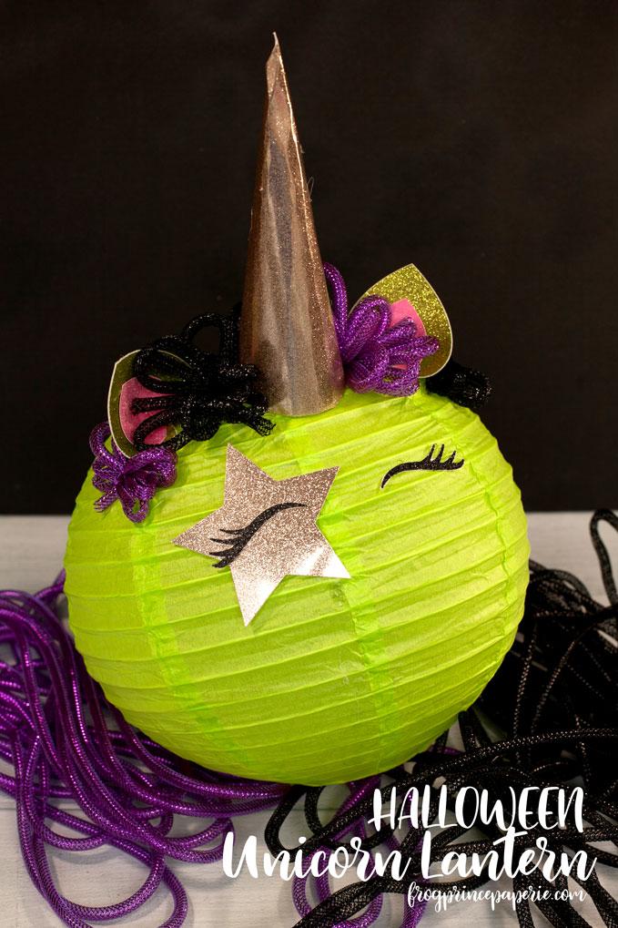 Halloween Unicorn Lantern DIY