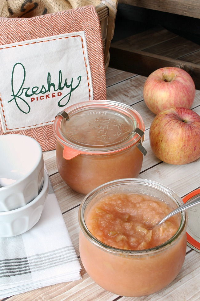 Homemade Applesauce – Slow Cooker or Stovetop
