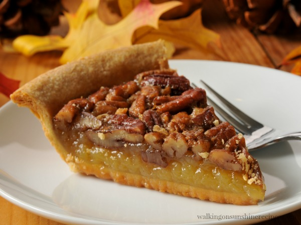 Pecan Pie Recipe perfect for Fall and Thanksgiving