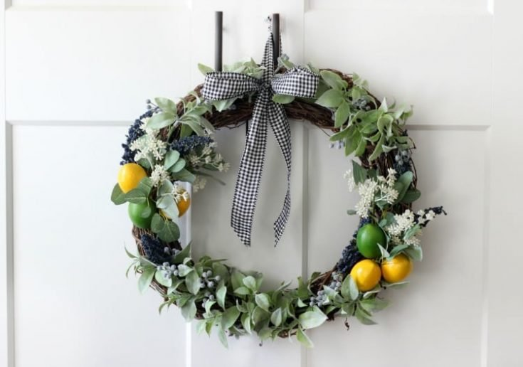 Easy Citrus Wreath Tutorial: Make One for Summer!