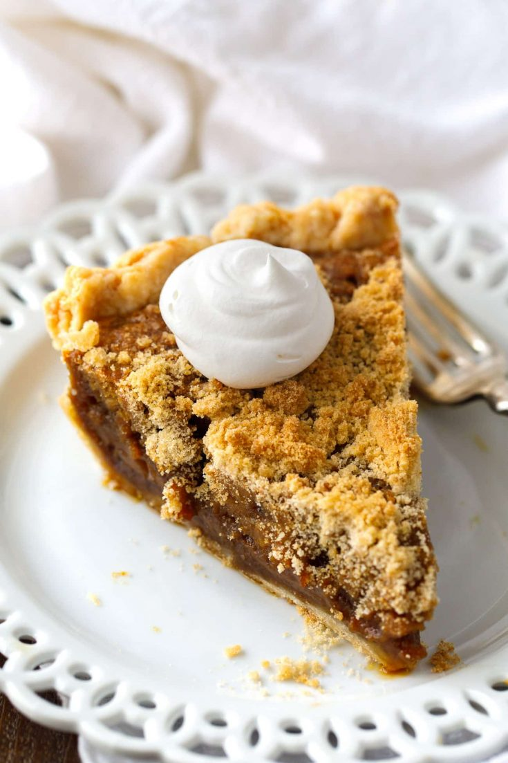 BEST Shoo Fly Pie Recipe - Amish Cookbook Shoo-fly Pie