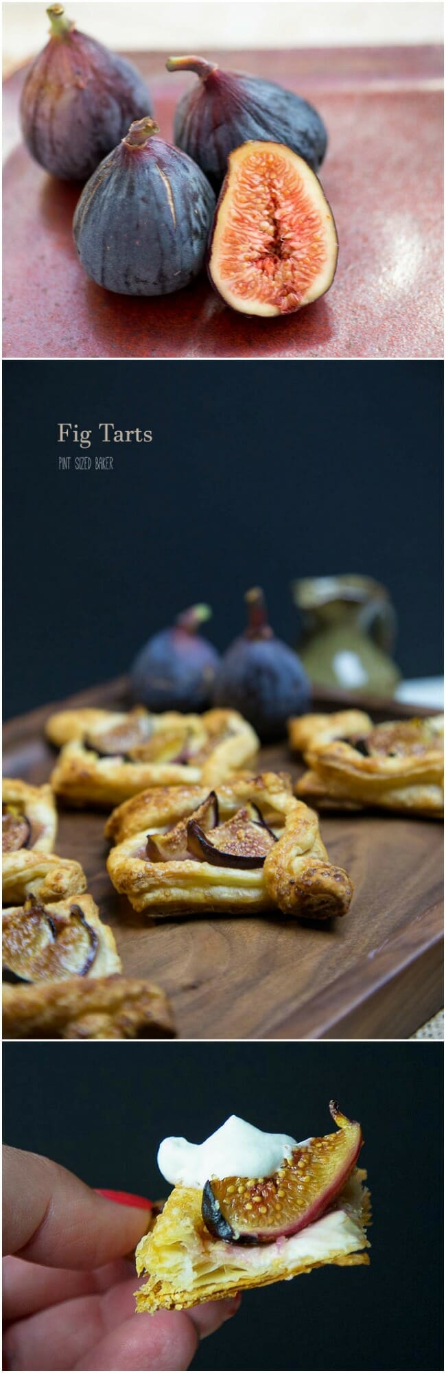 Easy puff pastry Fig Tarts made with just a few simple ingredients, they are ready to enjoy in 30 minutes.