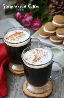 Gingerbread coffee is made with a delicious gingerbread flavor that all will enjoy. My gingerbread creamer is perfect for the holidays!
