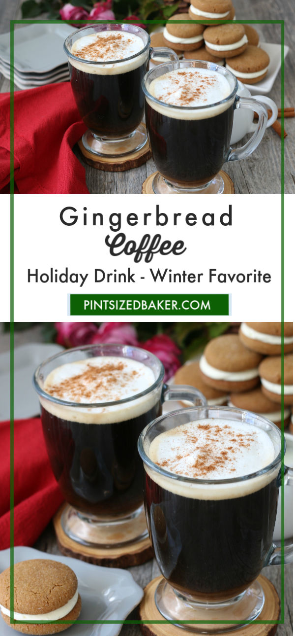 This holiday, serve your guests the best after dinner coffee - this Gingerbread Coffee. Full of great gingerbread flavor!