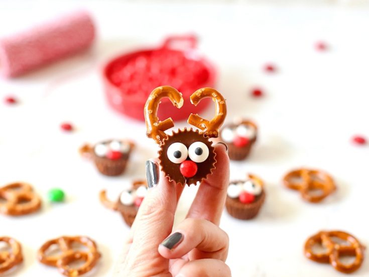 Reese's Reindeer for Christmas