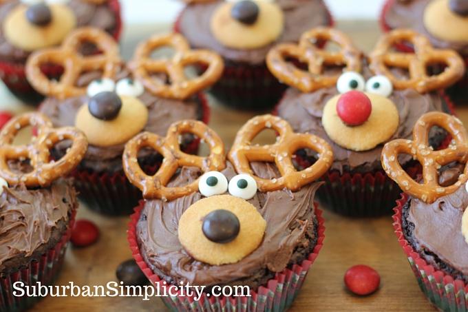 Adorable Reindeer Brownie Recipe.