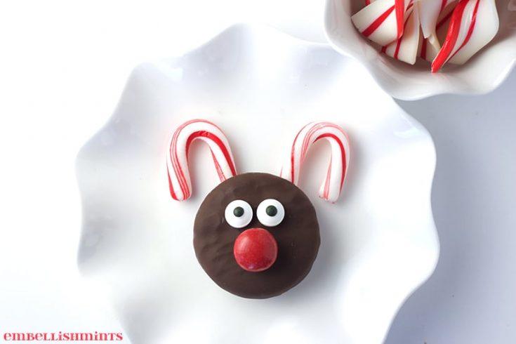 Oreo Rudolph Cookies