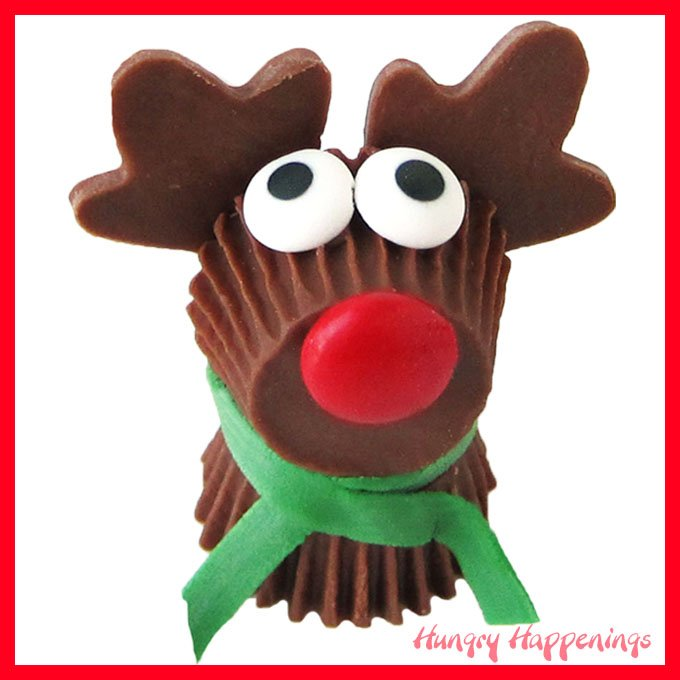 Reese's Cup Rudolph Treats