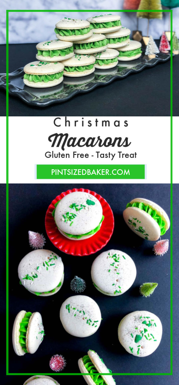 This Christmas Italian Macaron recipe is going to be the envy of your cookie platter. This Macaron recipe is easy to make if you follow it exactly.