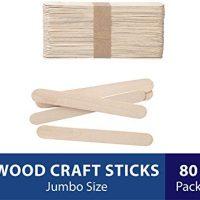 Natural Wood Craft Sticks