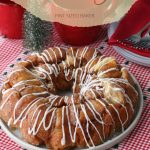 Monkey Bread is great all year round! This Drunken Monkey Bread has the added kick of a little bit of Fireball Liquor added to the sugar glaze!