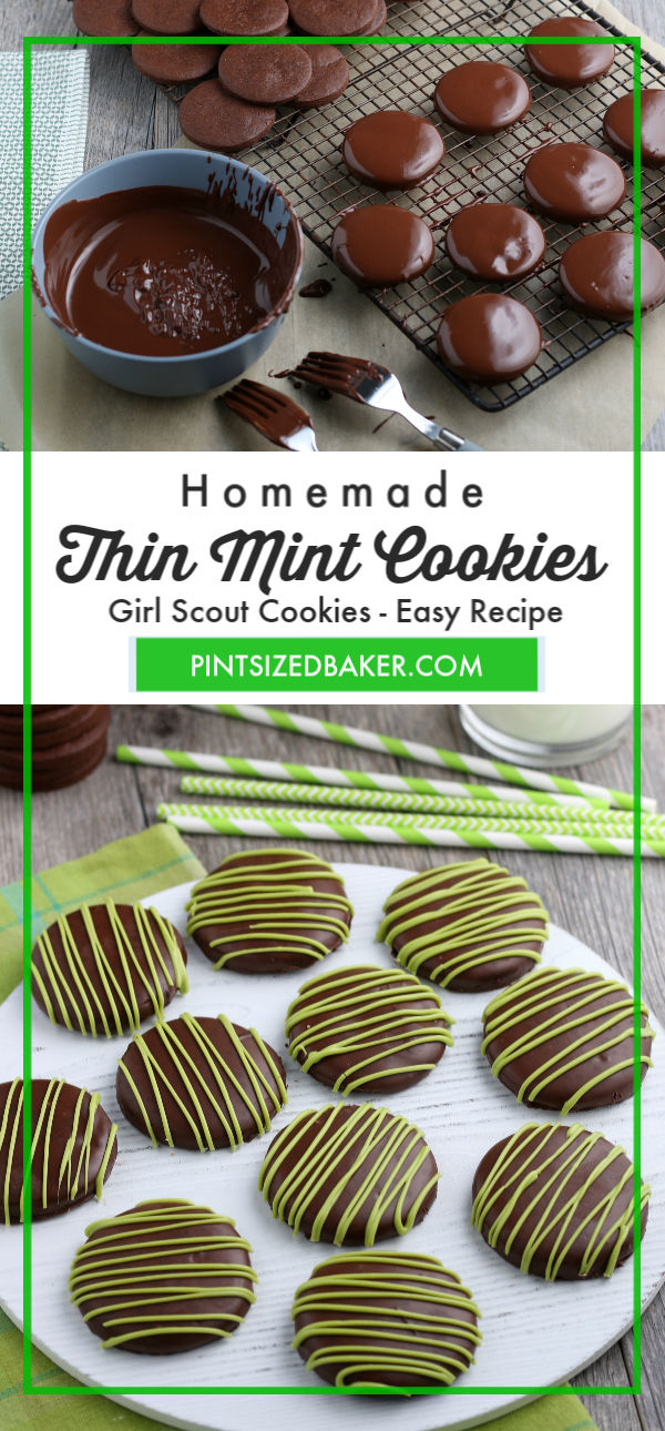Keep your five bucks and make some homemade Thin Mint cookies all  year round. This recipe makes like almost 3 dozen cookies!