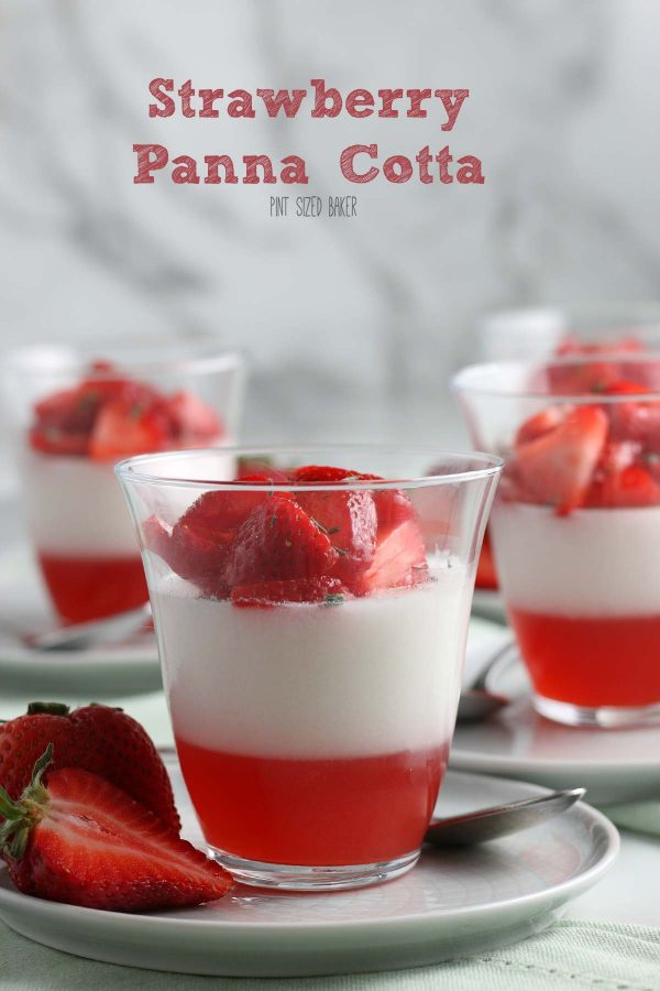 This is an easy panna cotta recipe. Strawberry Coconut Panna Cotta is a layered jello dessert that everyone loves. It's perfectly creamy and delicious.