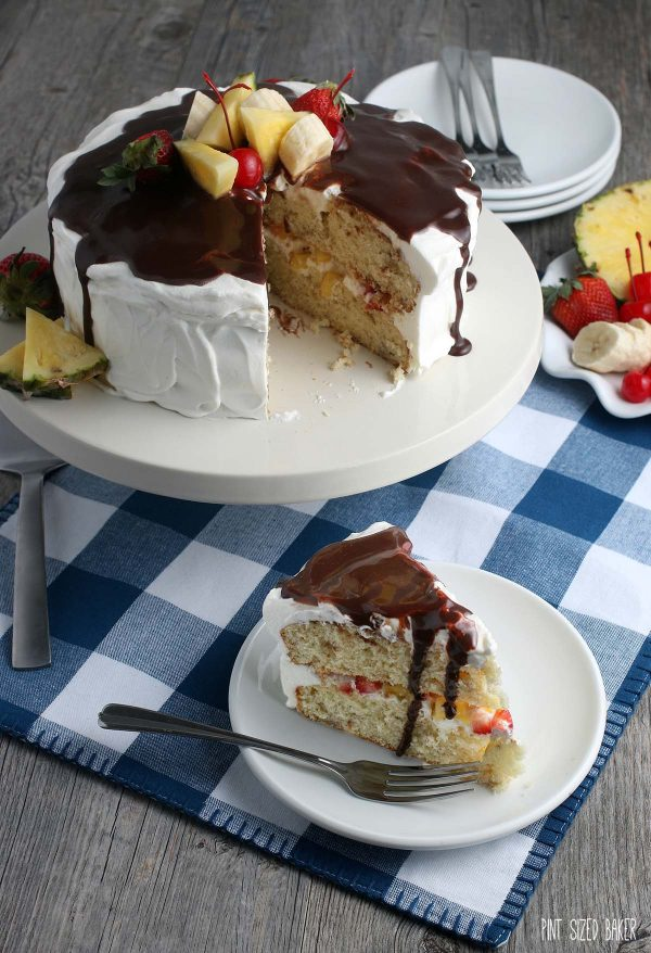 Now that we know how to make banana split cake this recipe doesn't seem so complicated!