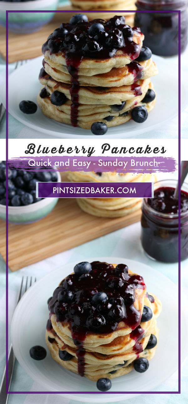 Have you ever woke up on a Saturday morning and wanted something delicious? Blueberry Pancakes are always my go-to when I want something sweet but filling. These are the fluffiest pancakes you'll ever eat.