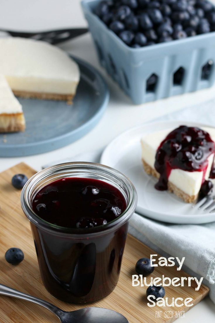 The Best Blueberry Sauce