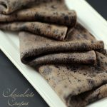 "Leadin image with the text ""Chocolate Crepes"""