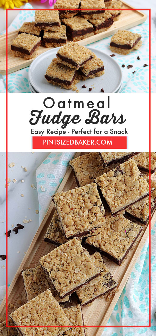 Prepare a delicious treat that's perfect for a snack. These Oatmeal Fudge Bars are full of flavor and will satisfy your chocolate craving.